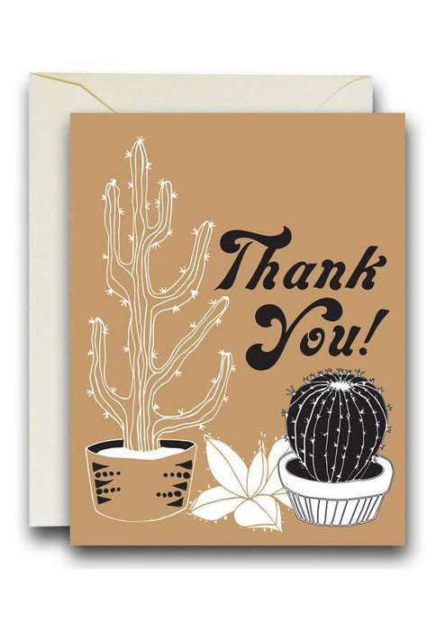 Cati Thank You Card - Tigertree