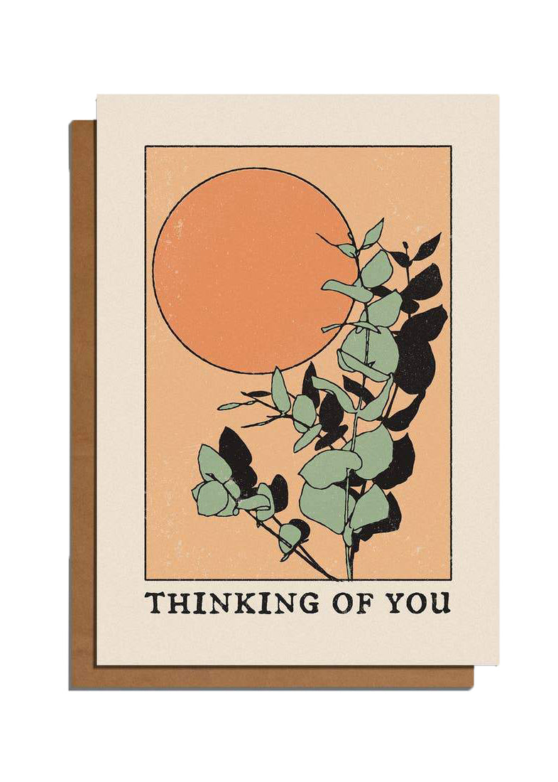 Thinking Of You Card - Tigertree