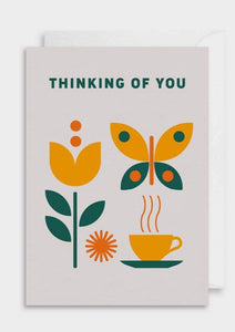 Thinking Of You Greeting Card - Tigertree