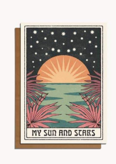 My Sun and Stars Card - Tigertree