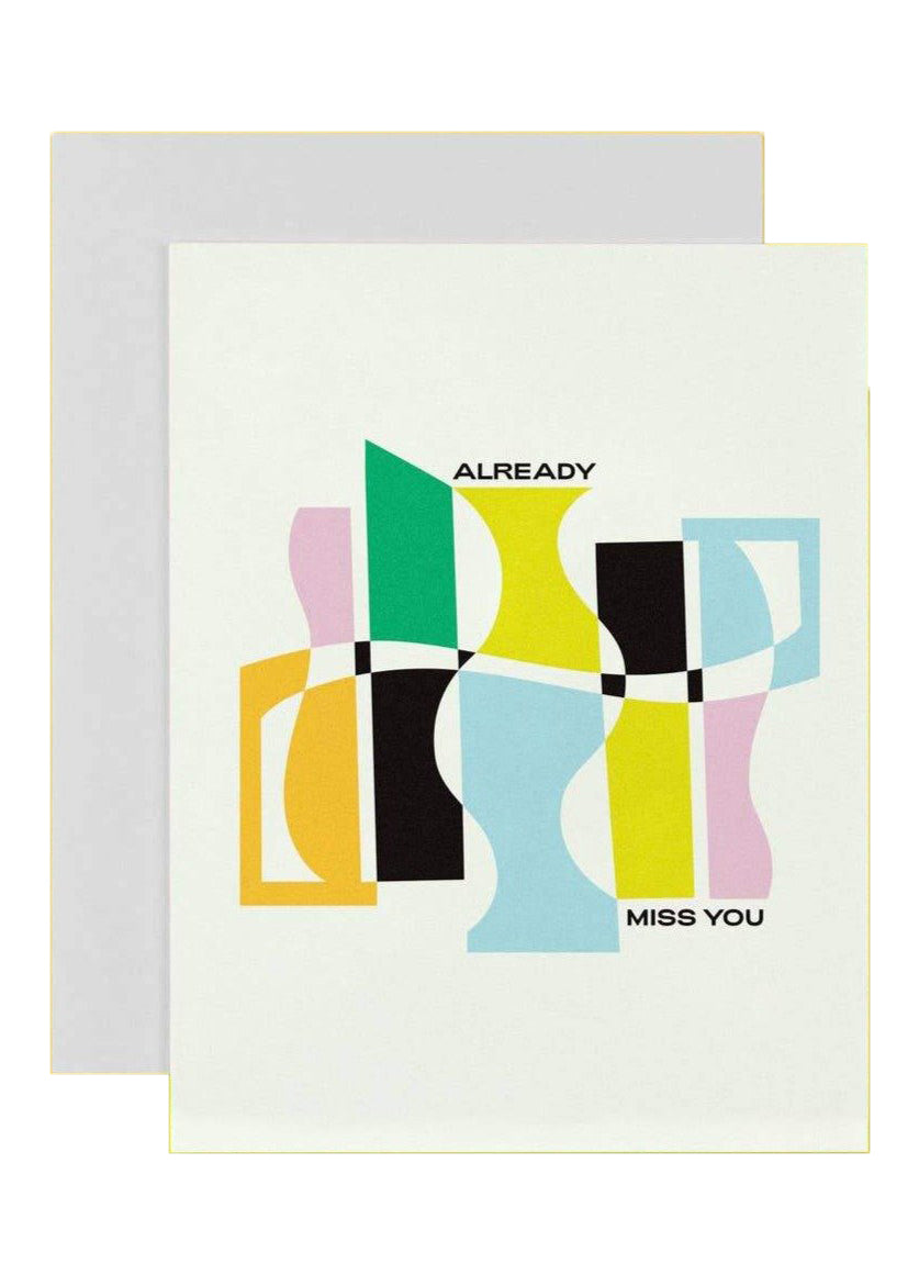 Already Miss You Card - Tigertree