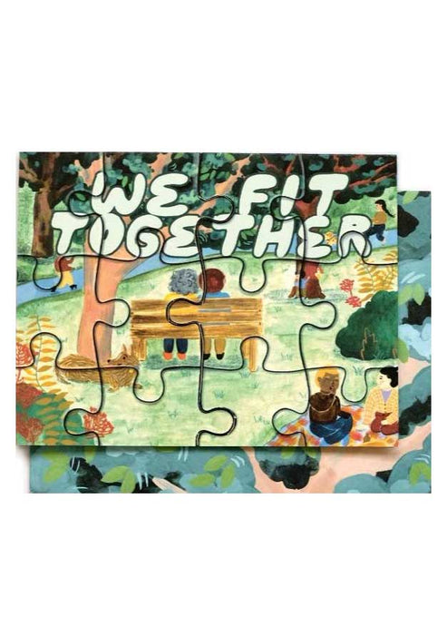 Fit Together Puzzle Card - Tigertree