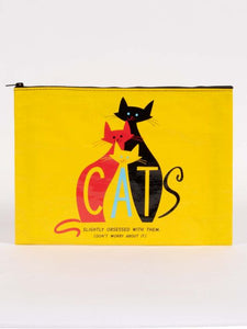 Cats Jumbo Pouch - Tigertree