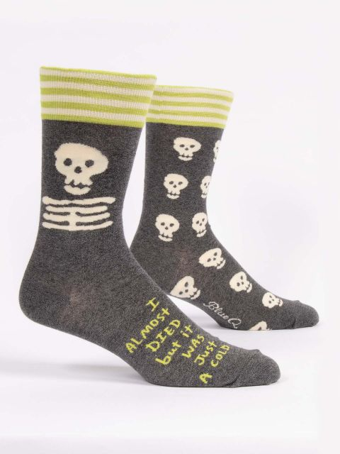 Almost Died Men's Socks - Tigertree