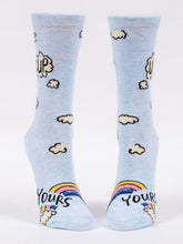 Load image into Gallery viewer, Women's Crew Socks Up Yours - Tigertree