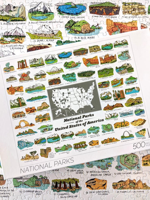 National Parks Puzzle - Tigertree