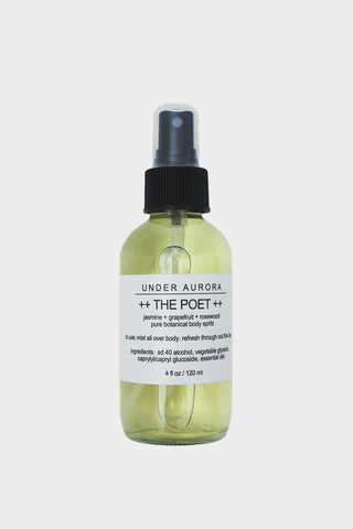 Botanical Body Spritz The Poet