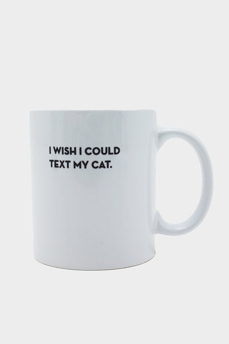 Cat Text Mug - Tigertree