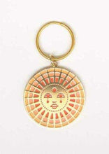 Load image into Gallery viewer, Sun Enamel Keychain