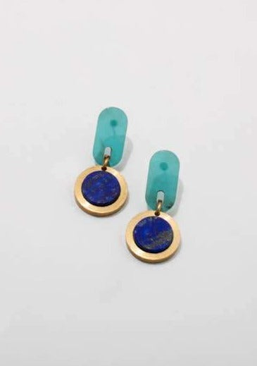 Ruth Earrings - Tigertree