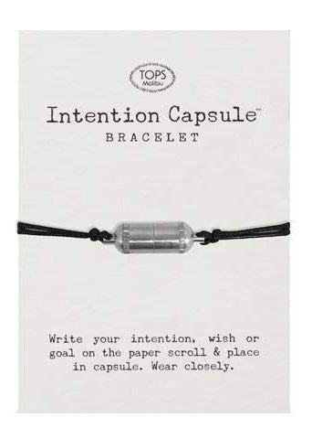 Intention Capsule Bracelet Silver - Tigertree