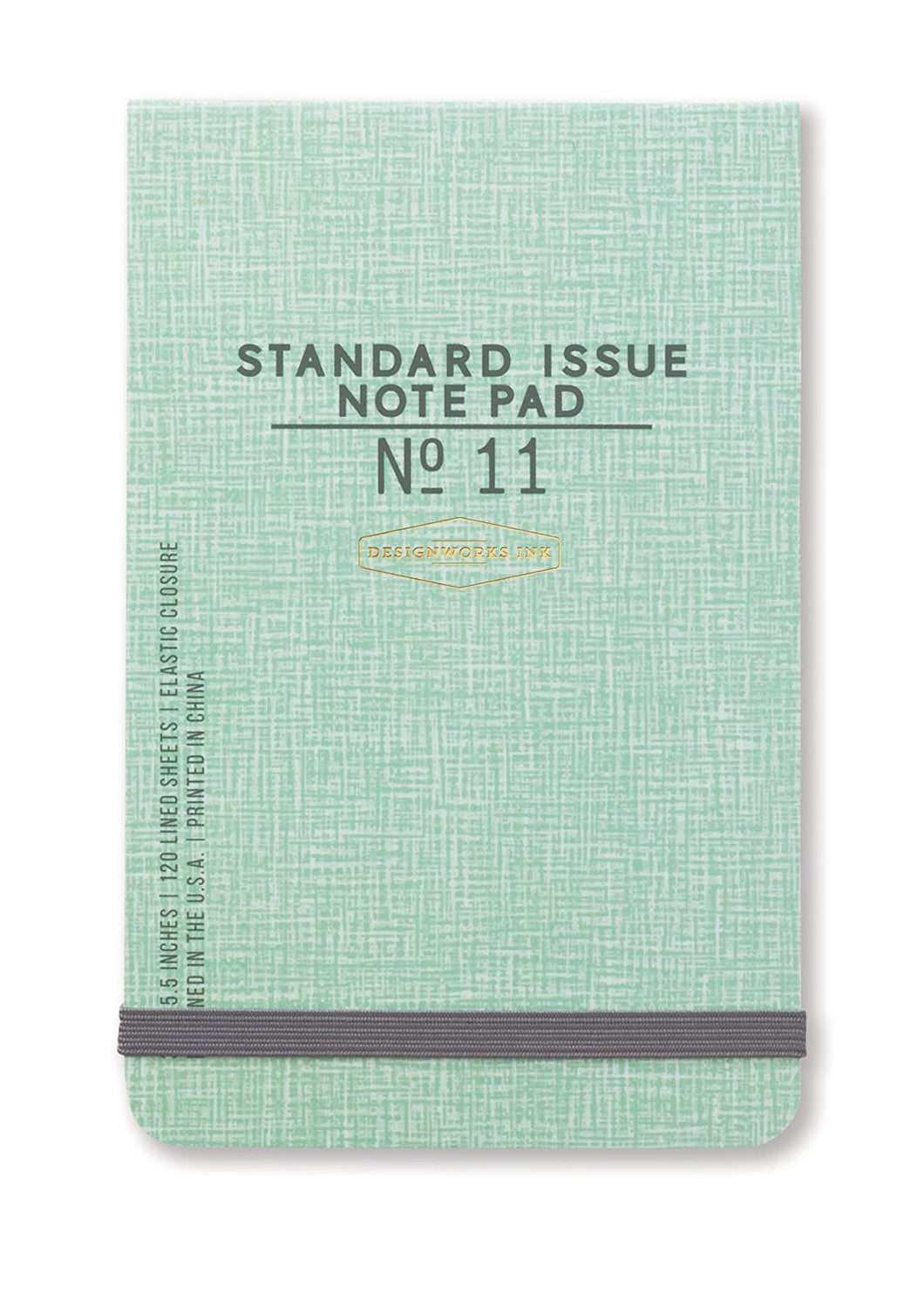 Green Standard Issue Note Pad No. 7