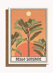 Hello Sunshine Card - Tigertree