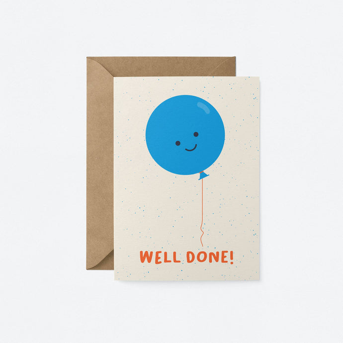 Well done! card - Tigertree