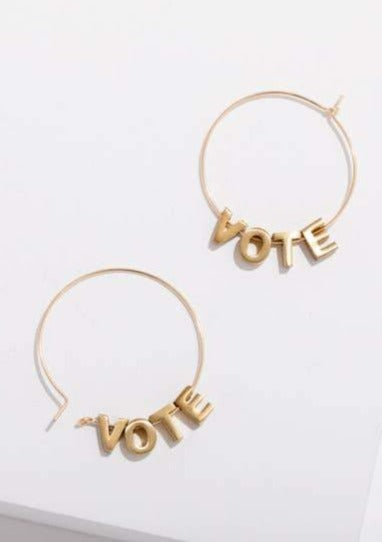 VOTE Earrings - Tigertree