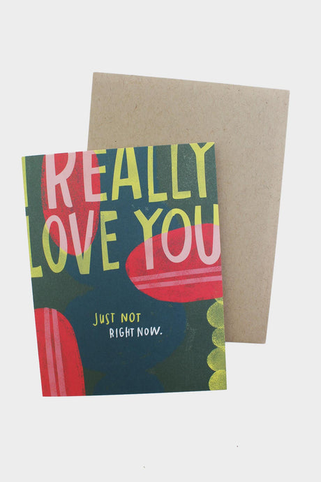 I Really Love You Card - Tigertree