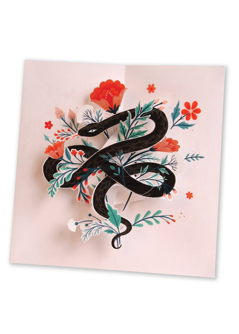 Snake Pop Up Card - Tigertree