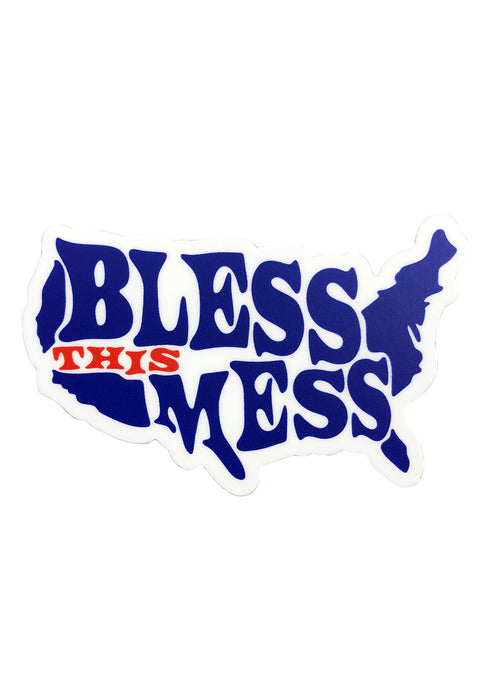 Bless This Mess Sticker - Tigertree