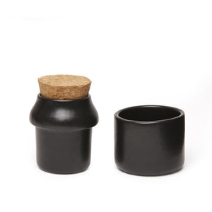 Herb Grinder + Jar Black - Tigertree
