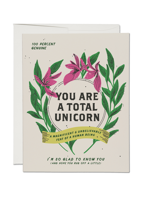 Total Unicorn Card - Tigertree