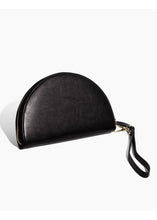 Load image into Gallery viewer, Black Half Moon Clutch - Tigertree