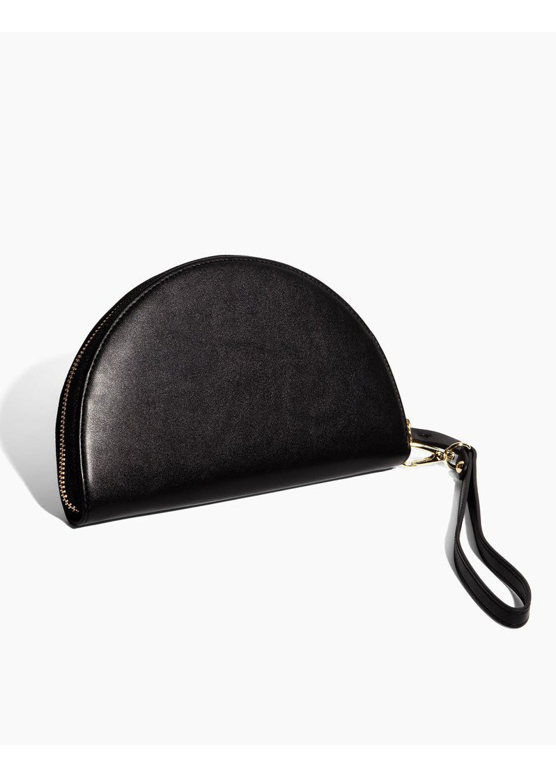 Black Half Moon Clutch - Tigertree