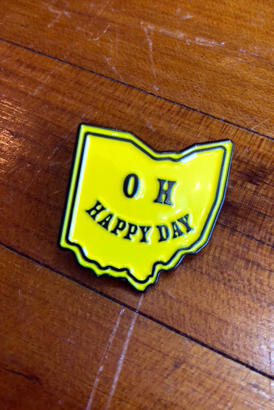 Oh Happy Day Pin - Tigertree