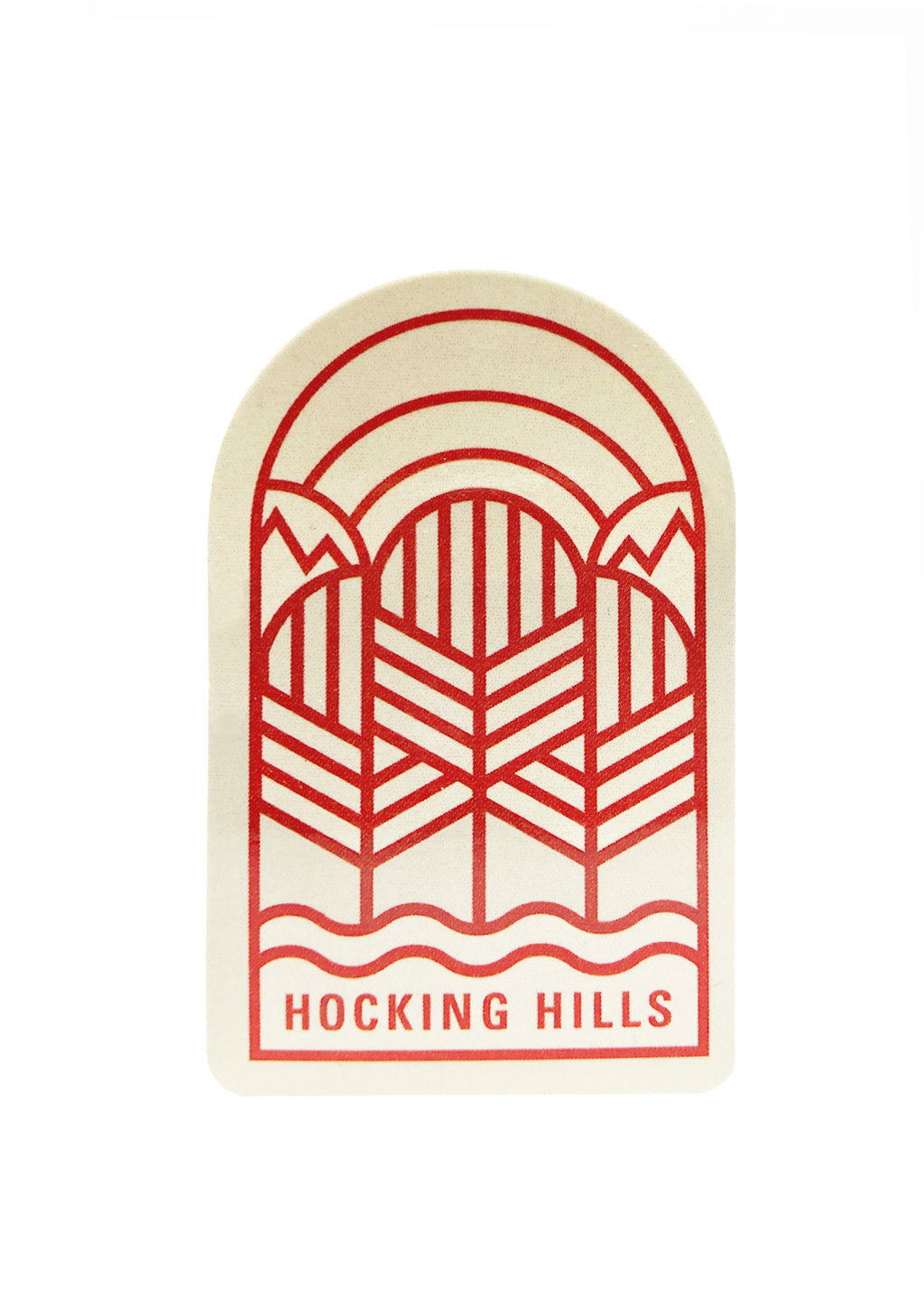 Hocking Hills Sticker