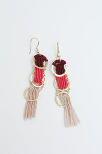 Santa Cruz Earrings Mauve - Tigertree