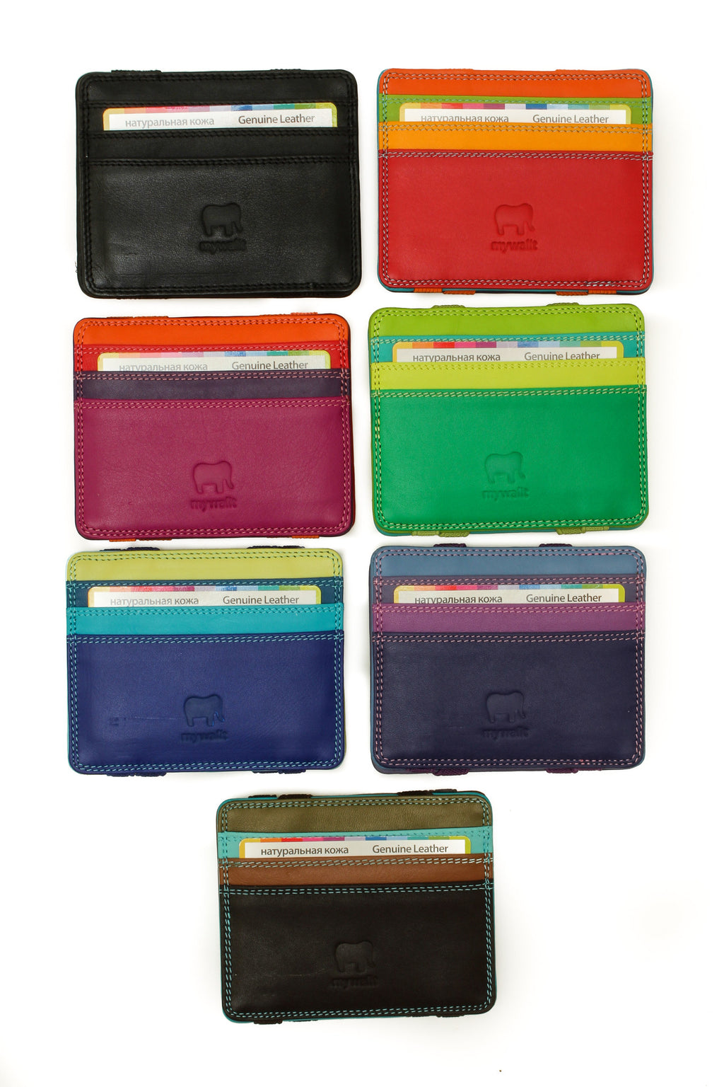 111 Leather Magic Wallet - Tigertree - 1
