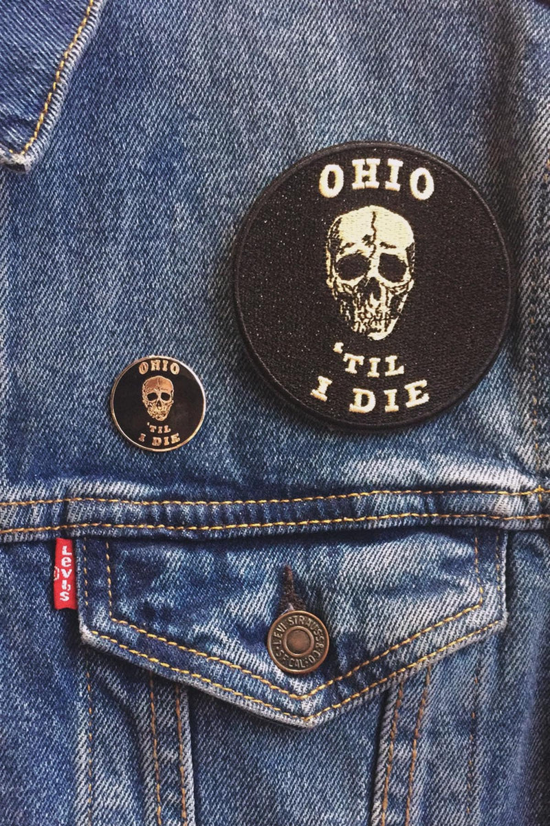 Ohio Til I Die Enamel Pin