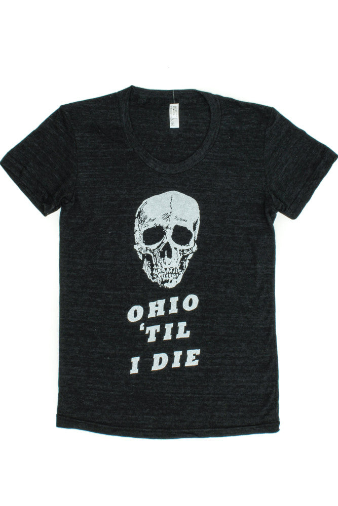 Womens Ohio 'Til I Die Tee - Tigertree - 2
