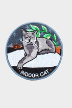 Load image into Gallery viewer, Indoor Cat Iron On Patch