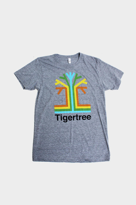 Men's Grey Tigertree Tee - Tigertree