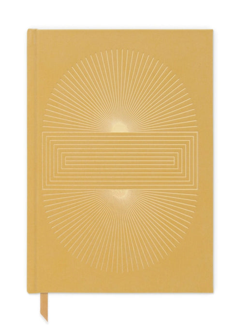 Ochre Radiant Sun Block Notebook - Tigertree