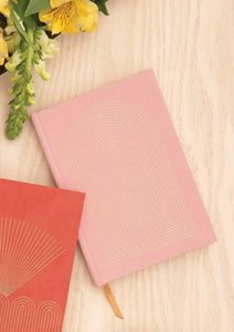 Dusty Pink Radiant Rainbow Notebook - Tigertree