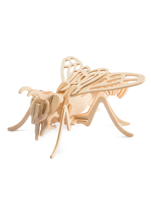 3D Wooden Puzzle: Bee - Tigertree