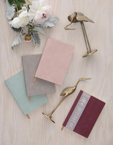 Dusty Blush Suede Planner - Tigertree
