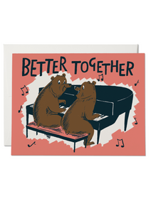 Better Together Bears Card - Tigertree