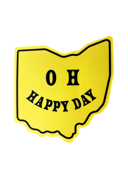 OH Happy Day Sticker - Tigertree