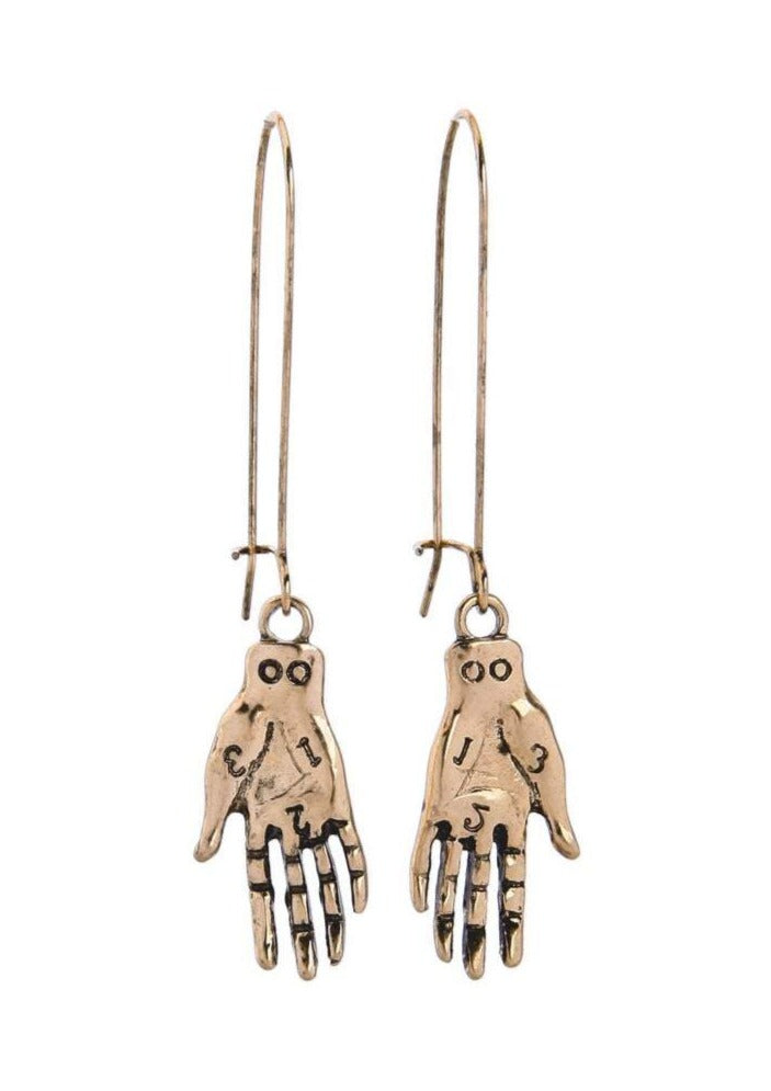The Art of Palmistry Earrings - Tigertree