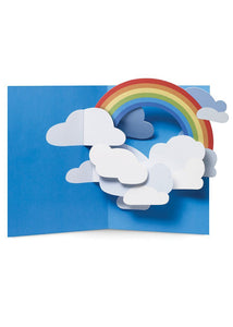Sabuda Rainbow Sky Pop Up Card - Tigertree