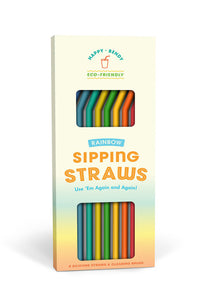 Sipping Straws Rainbow