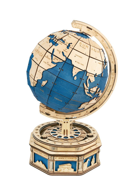 Wooden Globe Puzzle - Tigertree