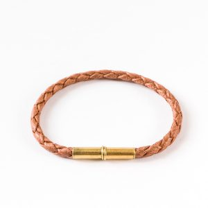 Flint Single Waxed Canvas Bracelet - Tigertree