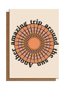 Another Trip Around The Sun Card