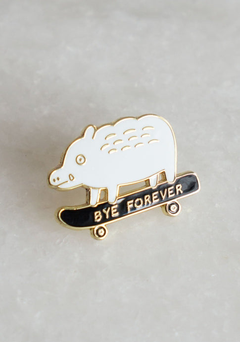 Bye Forever Boar Pin - Tigertree
