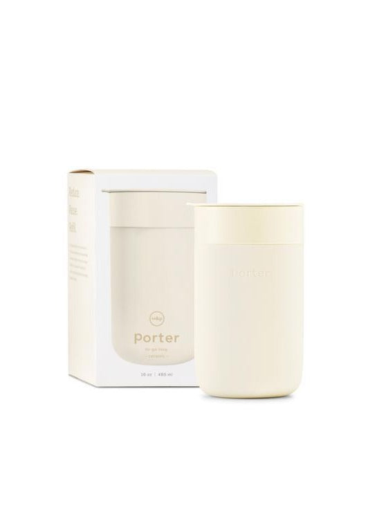 Porter Ceramic Mug Cream - 16 oz - Tigertree