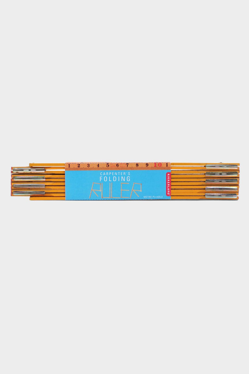 Wooden Swedish Folding Ruler