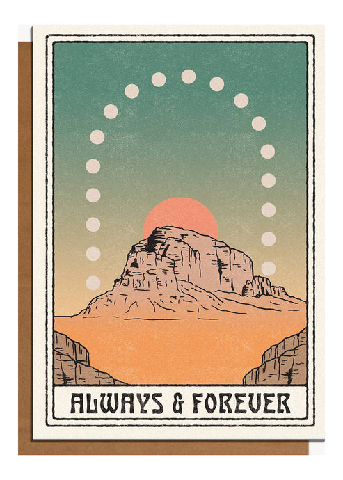 Always & Forever Card - Tigertree